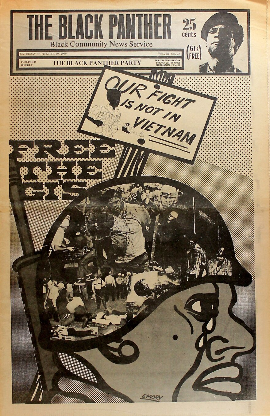 Cover of <em>The Black Panther </em>in September 1969.