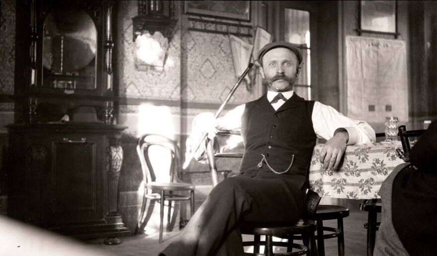 To acquire hops in Bavaria in 1901, Fairchild resorted to flattery. He took this portrait of a Bavarian beer brewer to cajole the man into giving him hops. The plan worked and Fairchild's hops enriched American beermakers in the years before Prohibition.