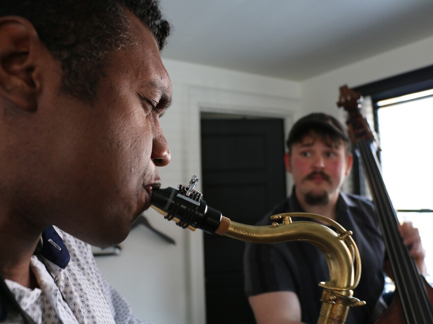 Physicist Stephon Alexander shares his love of science with his students at Brown University, and his love of jazz with musicians around Providence.