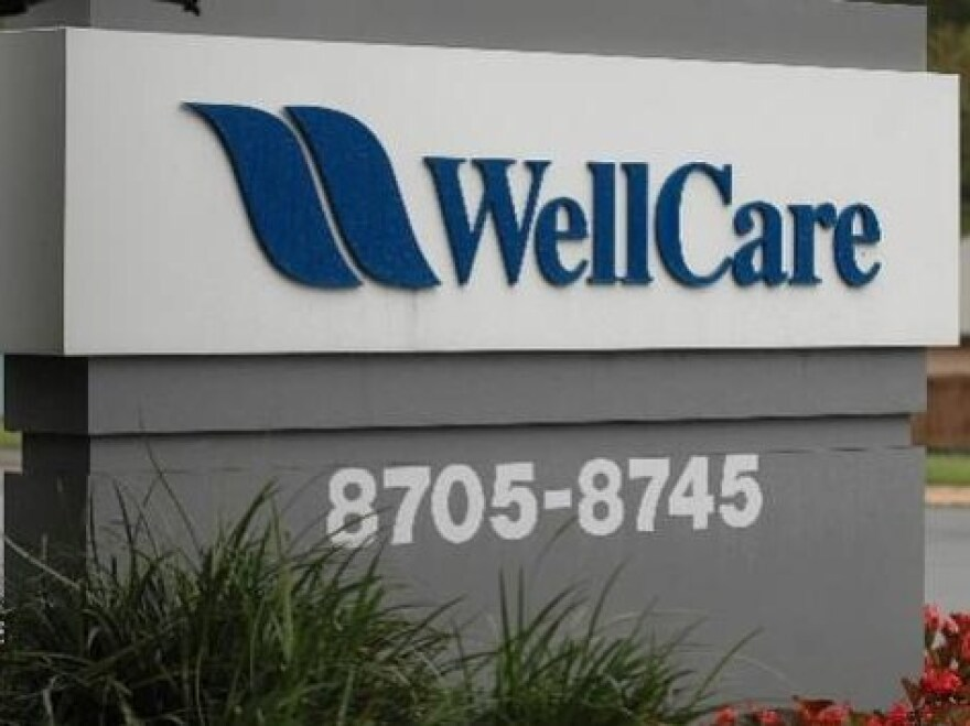 WellCare sign denoting building