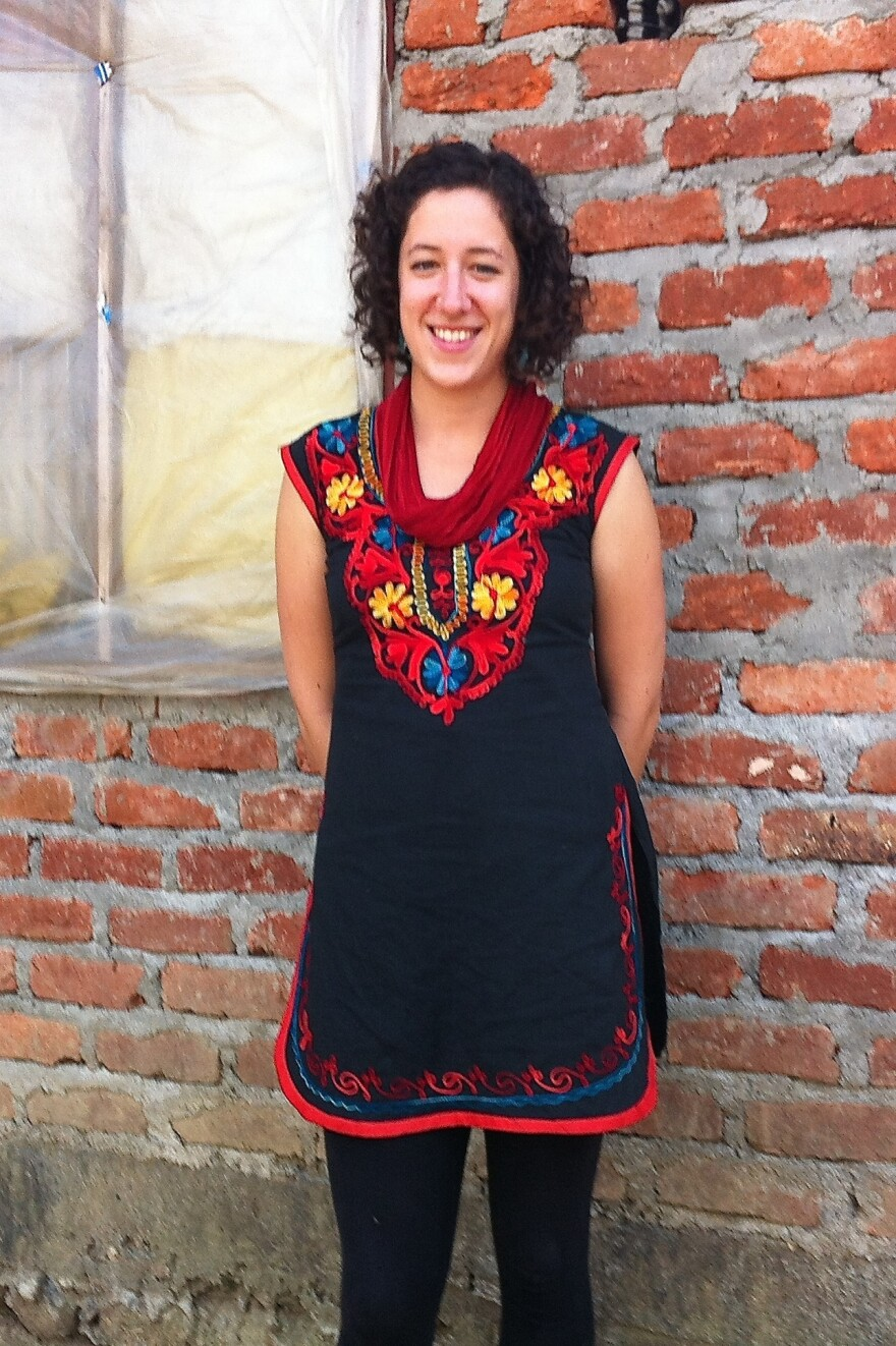 Hannah Marqusee has been living in Nepal for the past year as a Peace Corps volunteer.