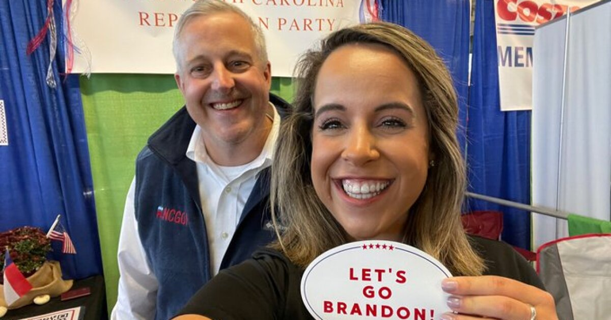NC Republicans keep saying 'Let's go, Brandon!' It's actually a vulgar dig at President Biden