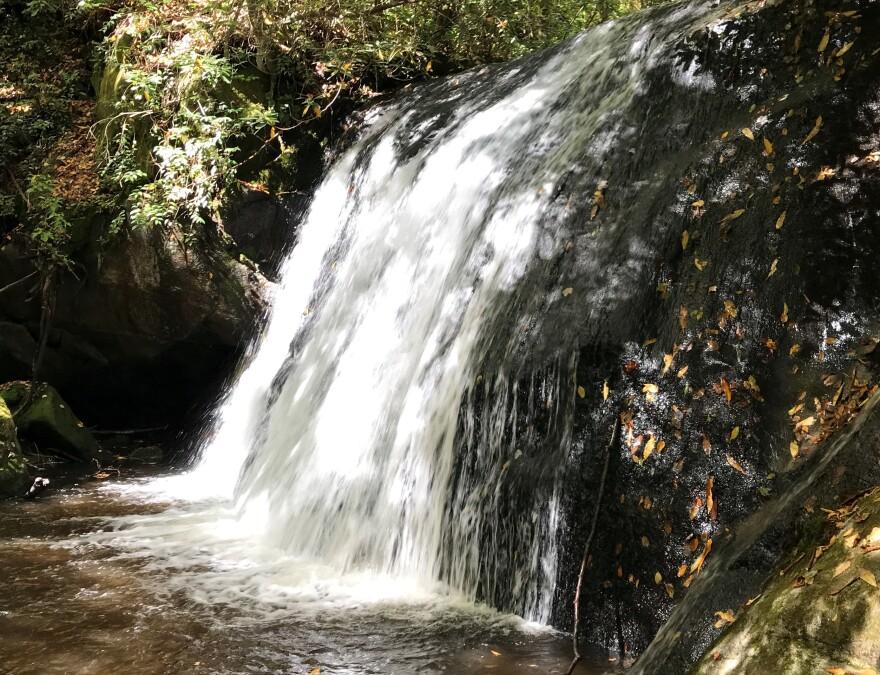 panthertown valley waterfall dc