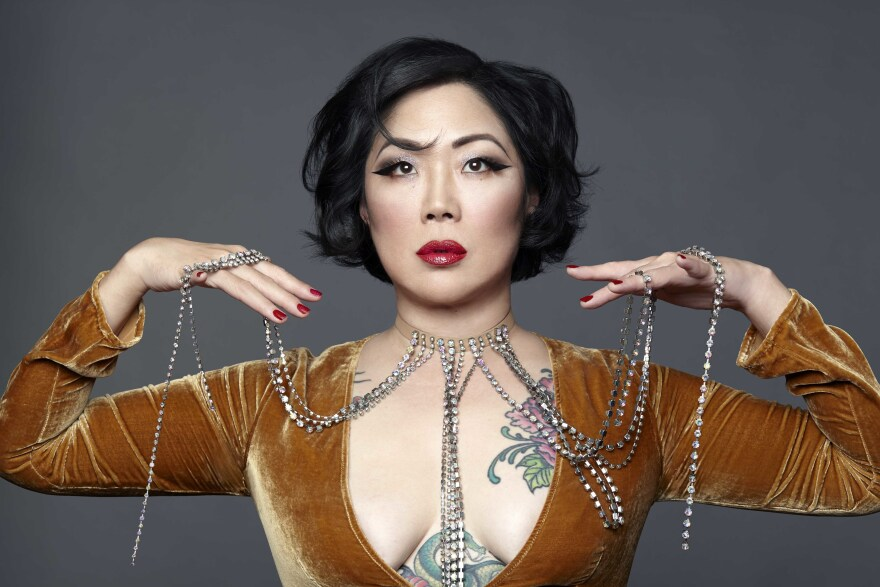Comedian Margaret Cho is currently on a stand-up tour called <em>Fresh Off the Bloat.</em>