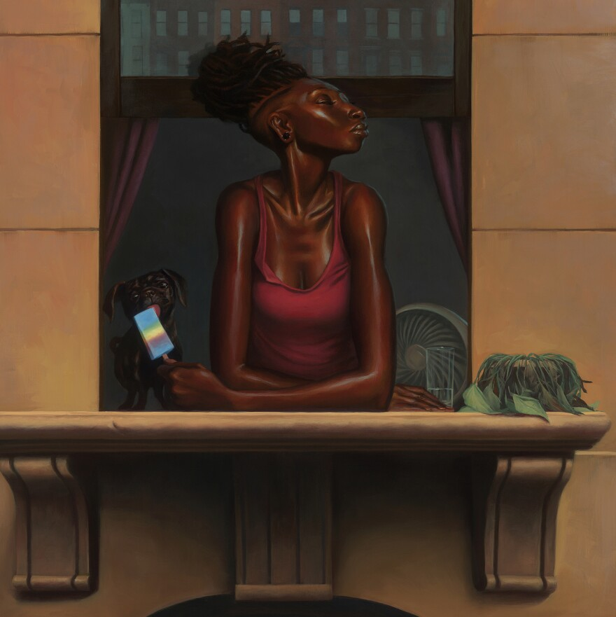 <em>Heat Wave</em> by Kadir Nelson