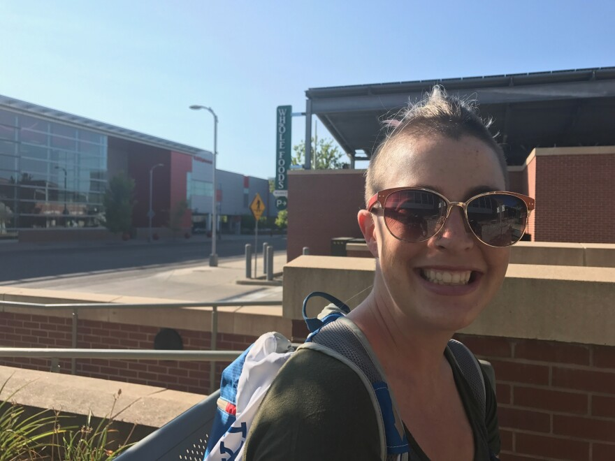 Andrea Shinn, 28, grew up in nearby Boulder and has seen housing prices in the Denver region skyrocket. She worries the area can't absorb more people.