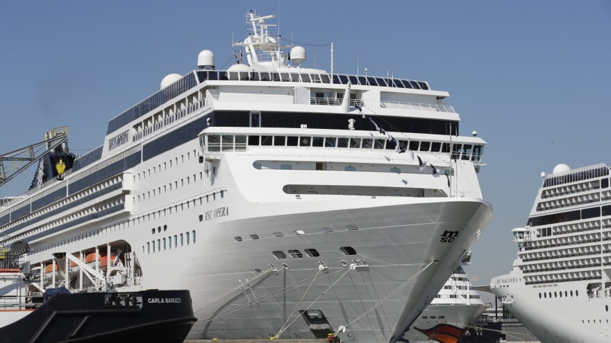 The MSC Opera cruise ship rammed into a dock and a tourist riverboat on a busy canal in Venice, Italy. An investigation is underway into the cause of the crash.