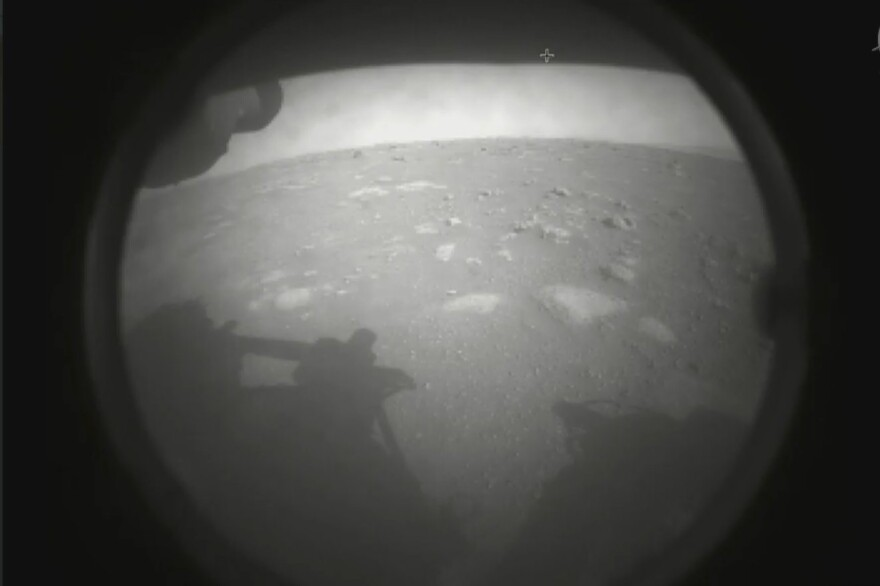An image from NASA's Mars Perseverance Rover.