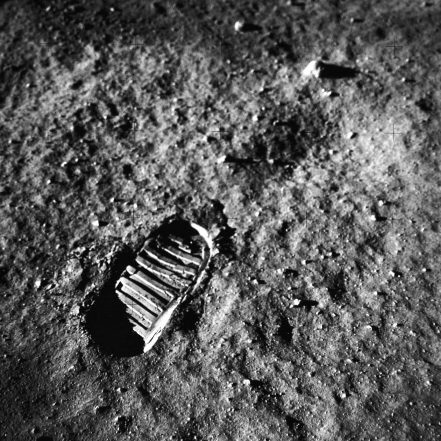 Historic preservationists want the U.N. to take action to preserve significant artifacts and objects on the moon, such as Apollo 11 astronauts' footprints in the lunar soil.