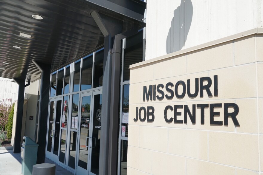 Missouri Job Center at Northwest Plaza in St. Louis County