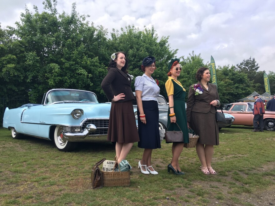 A scene from a vintage festival in suburban London. Some older Brexit voters say they miss the days when the United Kingdom was a stronger world power and hope that Brexit allows the country to chart an independent course outside the European Union.