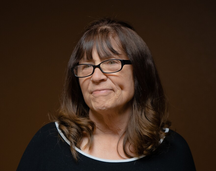Sheri Adler at an American Behavioral Health Systems office in Wenatchee, Wash. At age 72, Adler attempted to take her own life.