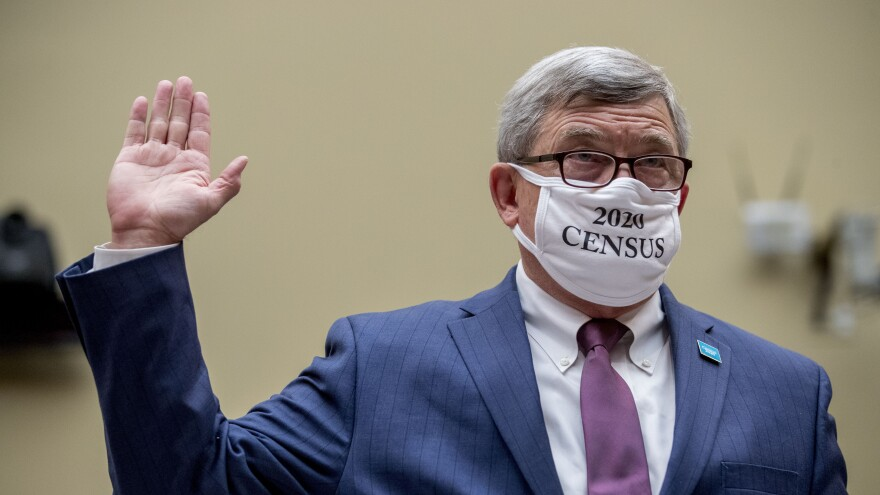 "Census Bureau Director Steven Dillingham, a Trump appointee who wore a ""2020 Census"" mask while swearing in to testify before a congressional hearing last year, is set to leave on Jan. 20, months before his term ends on Dec. 31."