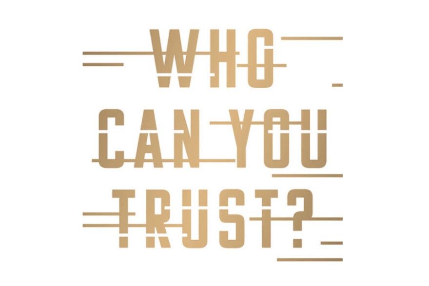 """The cover of Rachel Botsman's book, """"Who Can You Trust?"""""""