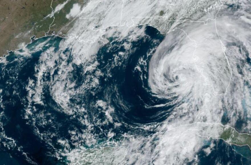 Eta satellite image