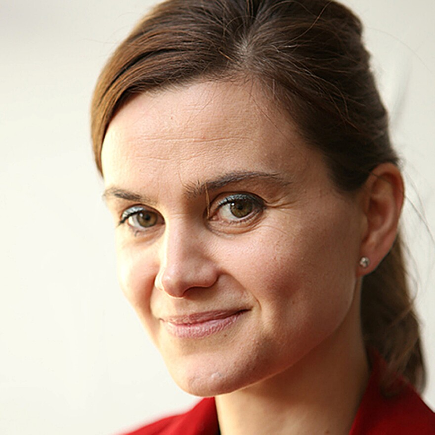 Labour MP Jo Cox is seen in an image released on Thursday. Cox was attacked in the village of Birstall, within the region she represents, and later died of her injuries