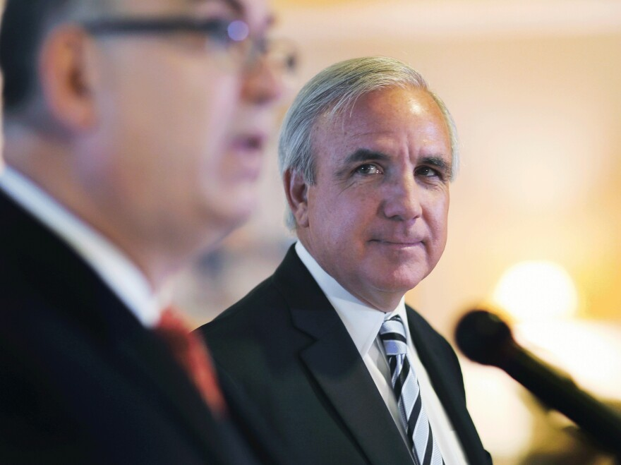 Miami-Dade County Mayor Carlos A. Gimenez says that demolishing and replacing the public housing complex will not only improve conditions for residents, but also reduce crime.