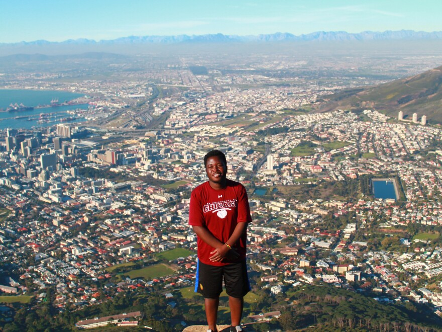 "Tatenda Yemeke spent the summer working on mental health issues in Cape Town: ""I lived with a Muslim family and they helped me learn about local culture."""