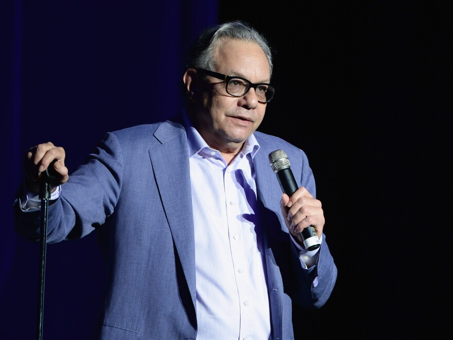 """What anger is good for, too, is to generate energy to move on, to figure out how to do something,"" comedian and anger artist Lewis Black says. ""You get angry and go, what do we do?"""