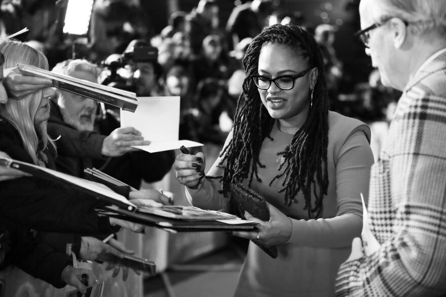 "Director Ava DuVernay attends the European premiere of Disney's ""A Wrinkle In Time"" in London."