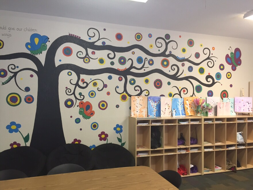 The learning center at the Homeless Empowerment Program in Clearwater