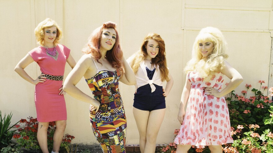 Clairy Browne & The Bangin' Rackettes' new album is called <em>Baby Caught the Bus</em>.