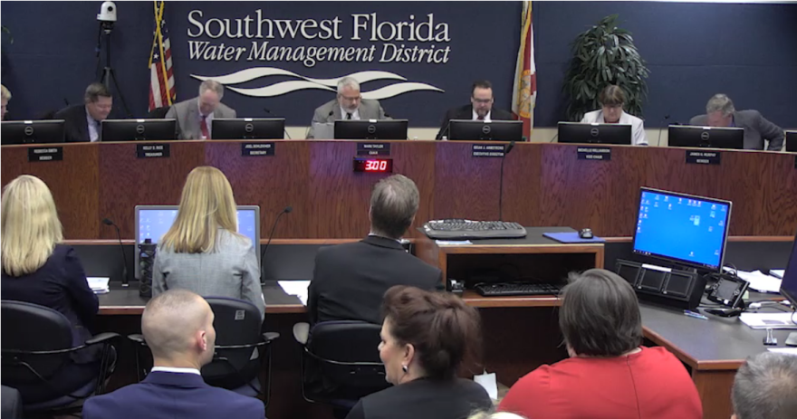 Swiftmud board members meet in Tampa on Tuesday to pass a budget