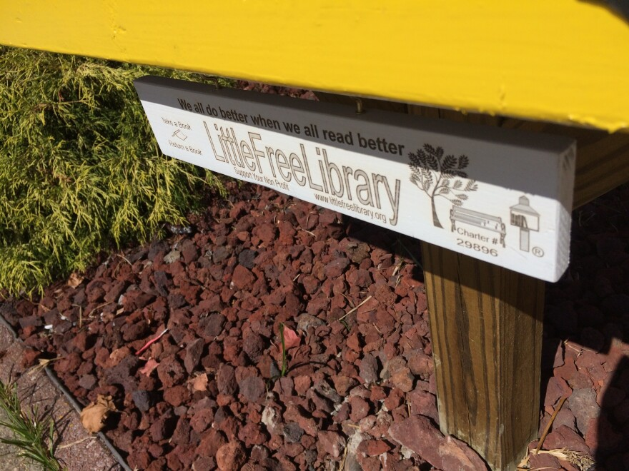 Little Free Library Placard