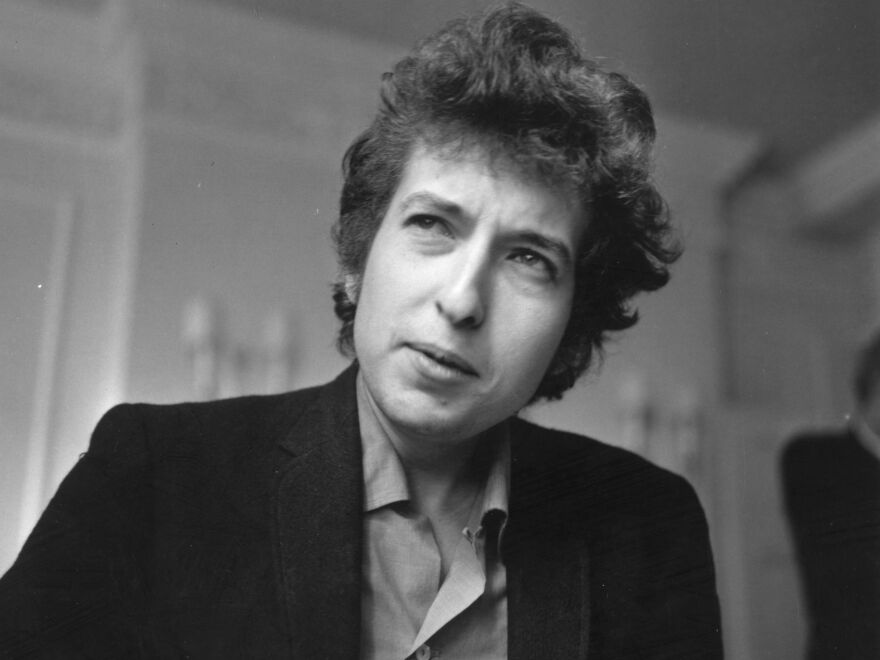 A 1965 portrait of singer-songwriter Bob Dylan, back when he was at the epicenter of the counterculture.