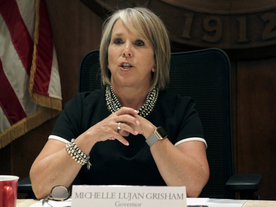 New Mexico Gov. Michelle Lujan Grisham announced a plan on Wednesday to provide free tuition in all of the state's 29 public colleges and universities. The proposal still needs the approval of the state legislature.
