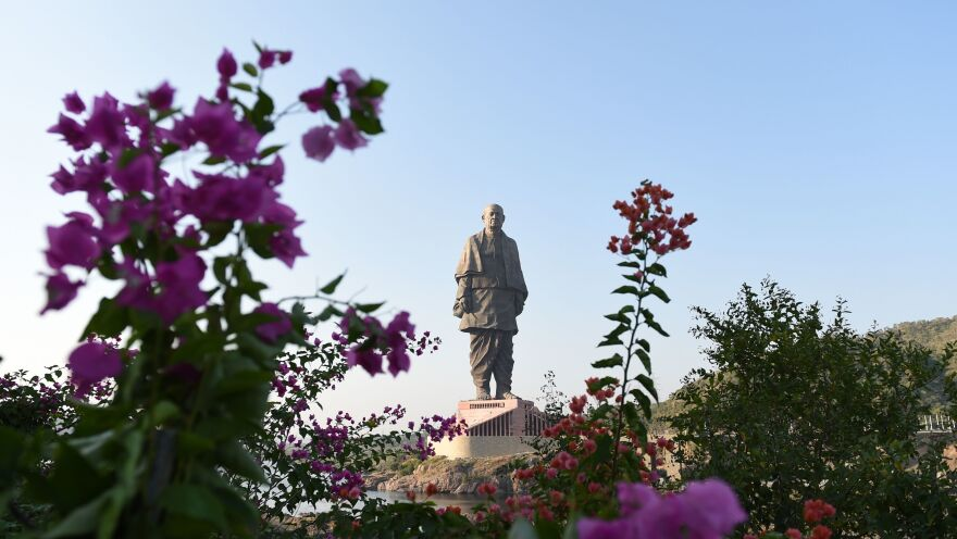 At 600 feet high, the tribute to independence icon Sardar Vallabhbhai Patel will stand well taller than the next largest statue in the world, the Spring Temple Buddha in China.