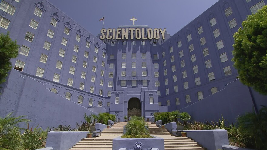 """Alex Gibney's <em>Going Clear</em> is based on <a href=""""http://www.npr.org/books/titles/170009218/going-clear-scientology-hollywood-and-the-prison-of-belief"""">a book</a> by Pulitzer Prize-winning author Lawrence Wright."""
