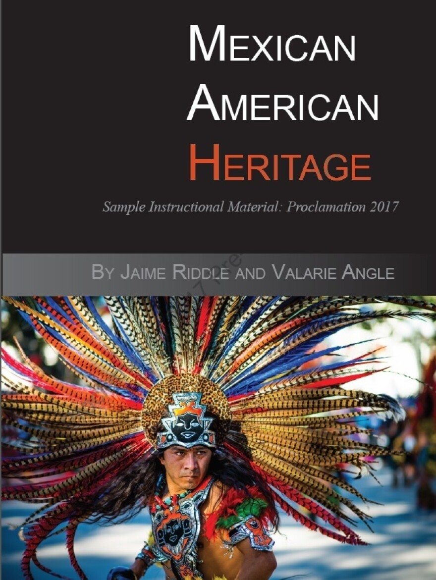 "Critics voice concern over this proposed Mexican-American heritage textbook. Some scholars on the subject say that the textbook, <em>""Mexican American Heritage,""</em> is riddled with factual errors, is missing content and promotes racism and culturally offensive stereotypes."