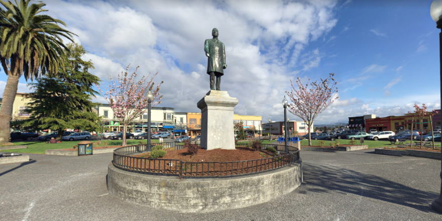 photo of McKinley statue