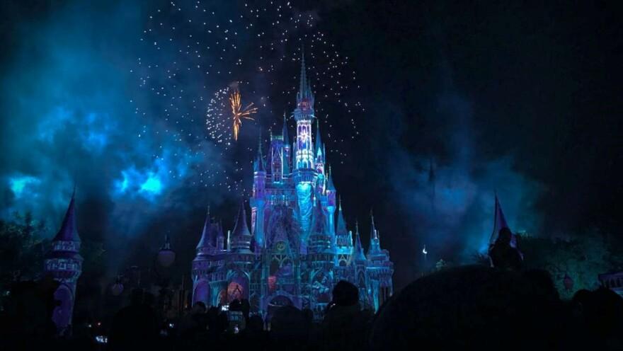 Disney World is closed through March.