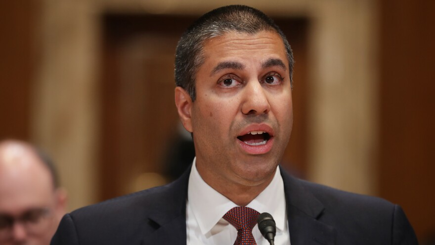 Federal Communications Commission Chairman Ajit Pai said Thursday that the commission has rejected China Mobile USA's application to provide phone services between the United States and other countries because of national security risks.