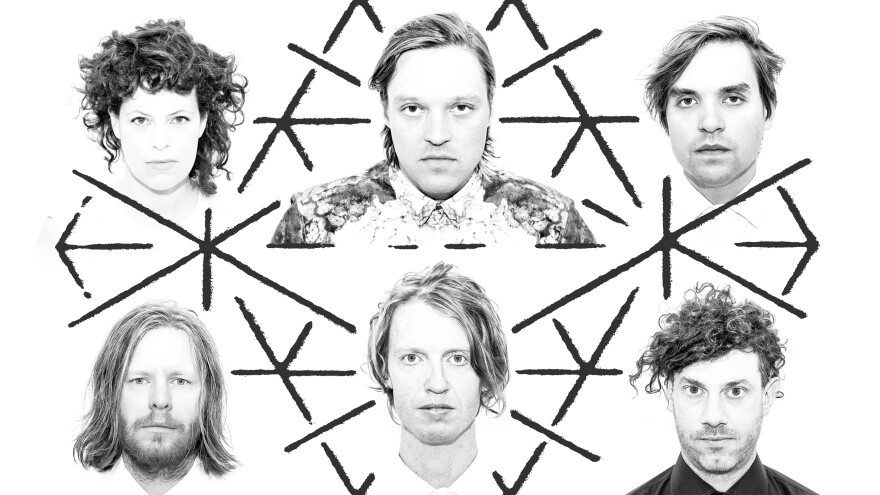 Arcade Fire's new album, <em>Reflektor</em>, comes out Tuesday.