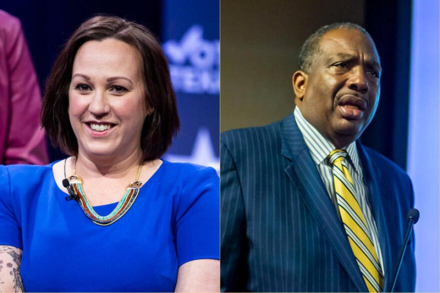 Retired Air Force pilot MJ Hegar and state Sen. Royce West are the two remaining Democrats vying for a U.S. Senate seat in Texas.