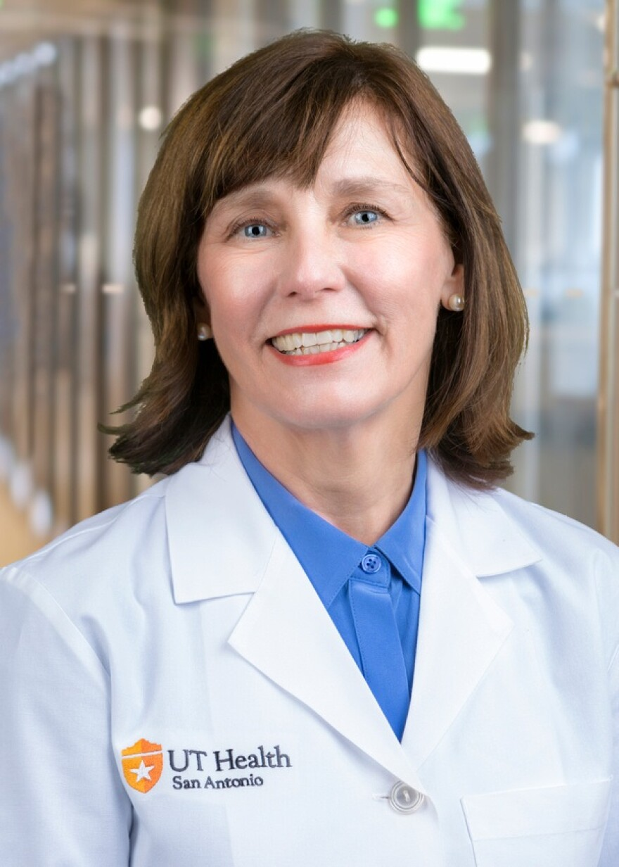 Carole White, PhD, RN, is director of Caring for the Caregiver and the Nancy Smith Hurd Chair in Geriatric Nursing and Aging Studies at UT Health San Antonio's School of Nursing.