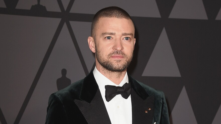 Justin Timberlake attends 9th Annual Governors Awards in November 2017. The pop star's new album drops Feb. 2.