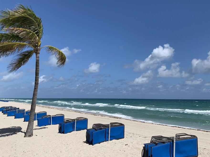 WLRN Fort Lauderdale Beach Empty