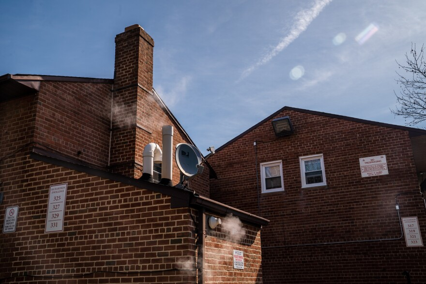The two-story brick apartments of Richardson Dwellings, a public housing complex in Northeast Washington, D.C., are decades old and have been patched together with one quick fix after another.