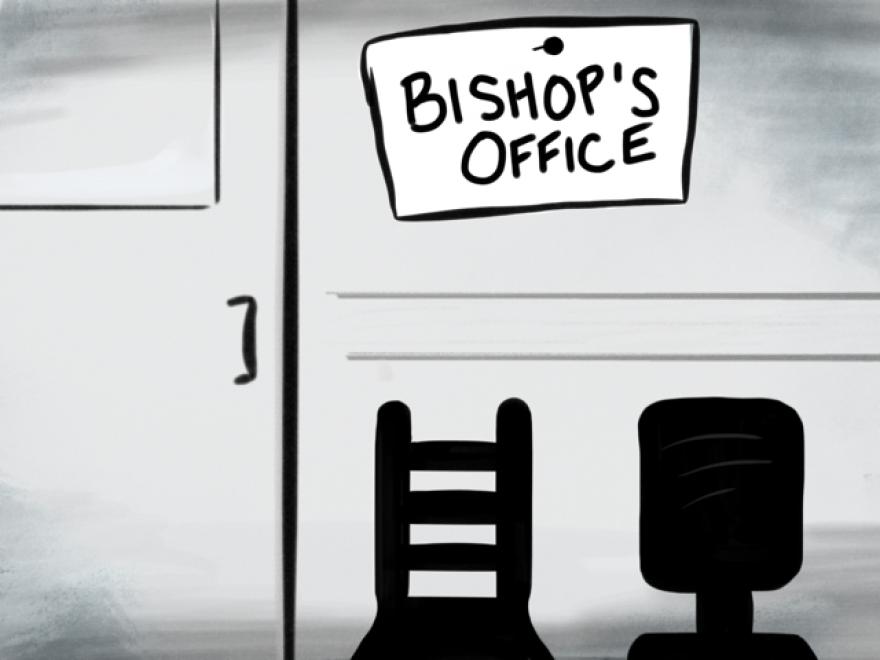 Illustration of office.