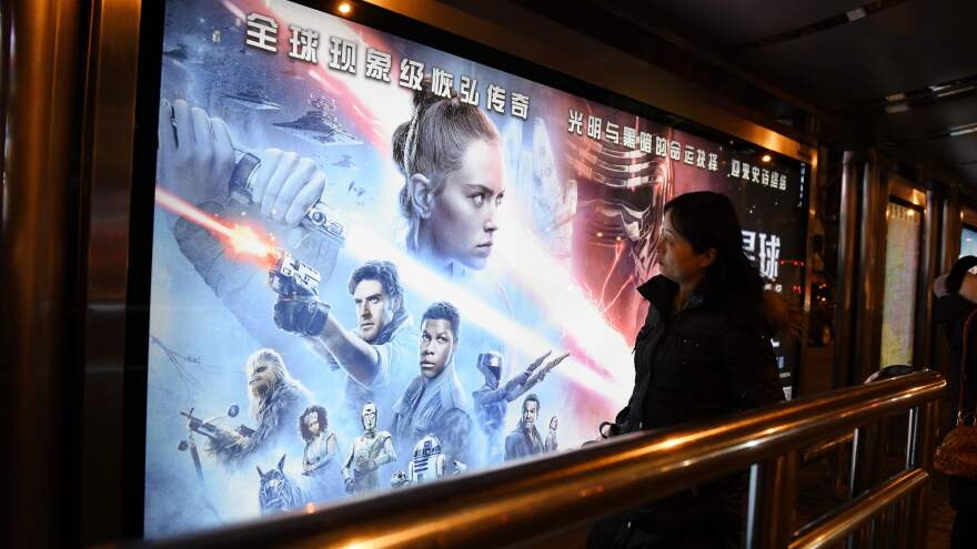 Chinese movie theaters are beginning to reopen as the rate of COVID-19 cases declines.