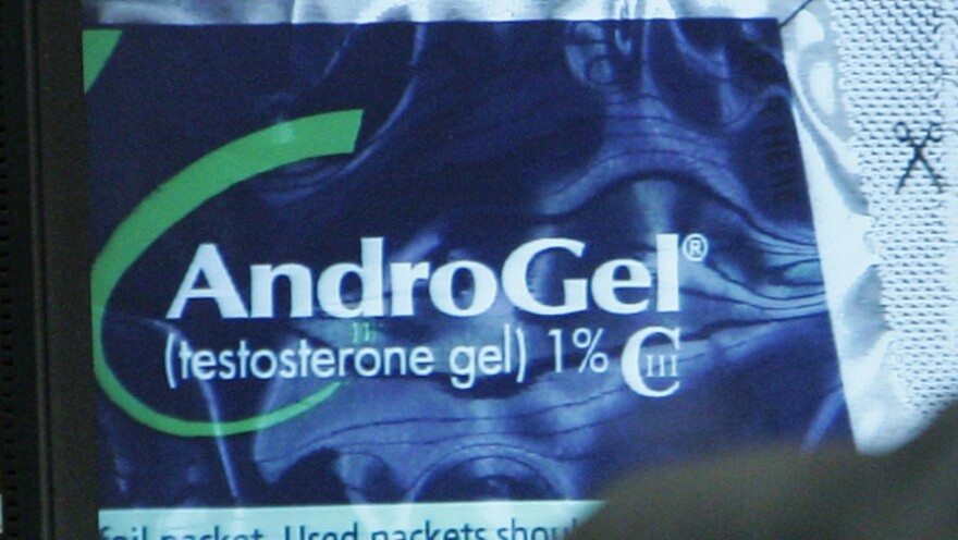 The Supreme Court has ruled that the FTC can challenge arrangements between makers of generic drugs and makers of brand-name products such as AndroGel, seen here on a computer monitor screen.