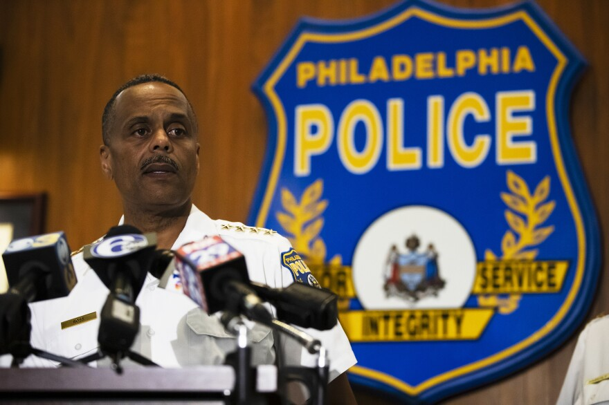 Philadelphia Police Commissioner Richard Ross announced on Wednesday that 72 officers have been placed on administrative duty following an investigation into inflammatory social media posts.