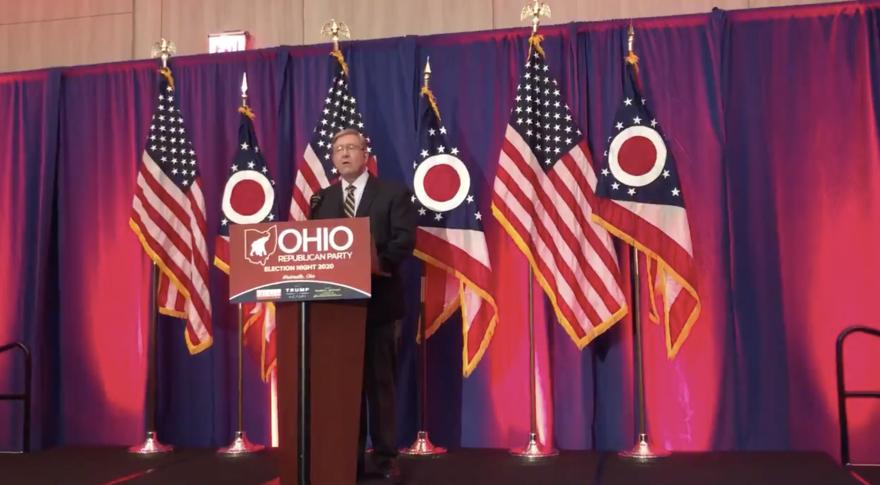 Ohio House Speaker Bob Cupp at GOP election night event