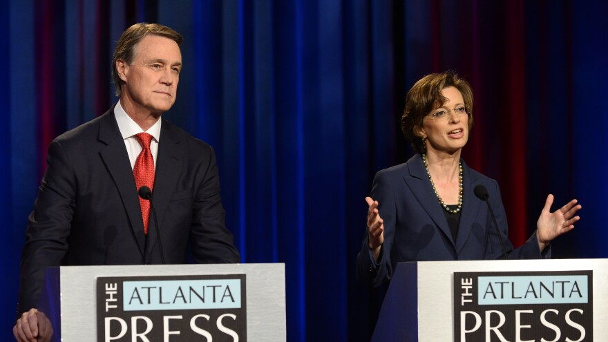 It's a long shot, but there's a scenario where control of the Senate might not be known until Jan. 6 — three days after the start of the next Congress. That's when Republican David Perdue and Democrat Michelle Nunn will face each other in a Georgia runoff if one of them fails to win 50 percent on Tuesday.