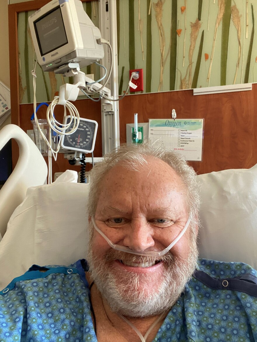 Dr. Kurt Papenfus, the lone full-time ER physician at a hospital in the small rural Colorado town of Cheyenne Wells, was first hospitalized with COVID-19 in November.