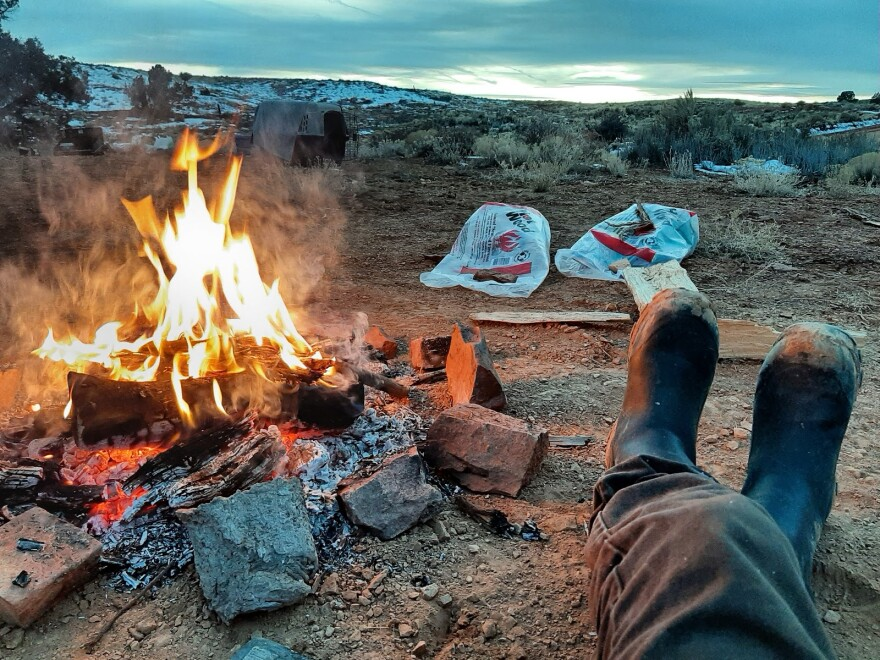 Public health officials in Idaho and Utah say camping could be a safe way to celebrate Thanksgiving, so long as hygiene and social distancing guidelines are followed.
